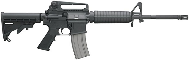 An assault weapons ban would ban this rifle only because it looks scary - not because it is more deadly than another type of rifle