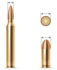 Bullet Cartridge Comparison