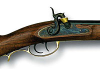 The Kentucky Long Rifle was one of the most famous of the early firearms